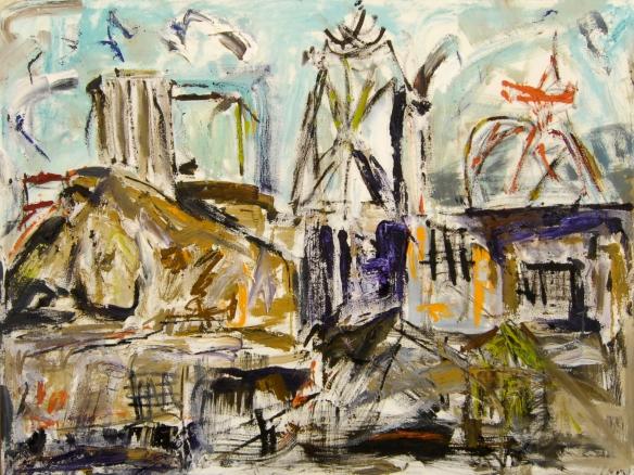 """Conundrum - oil on canvas 36""""X48"""""""